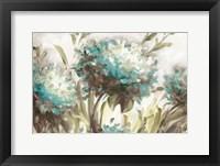 Framed Hydrangea Field Neutral