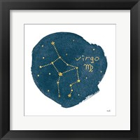 Framed Horoscope Virgo