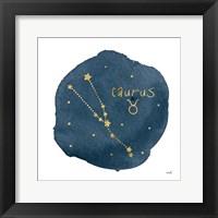 Framed Horoscope Taurus
