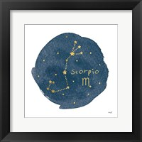 Framed Horoscope Scorpio