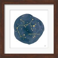 Framed Horoscope Sagittarius