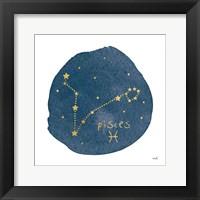 Framed Horoscope Pisces