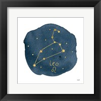 Framed Horoscope Leo
