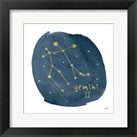 Framed Horoscope Gemini