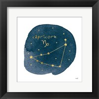 Framed Horoscope Capricorn