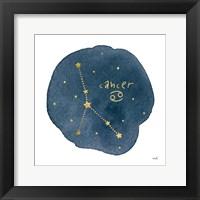 Framed Horoscope Cancer