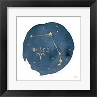Framed Horoscope Aries