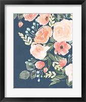 Framed Blooming Delight II Sage
