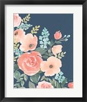 Framed Blooming Delight I Sage