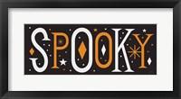 Framed Festive Fright Spooky