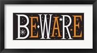 Framed Festive Fright Beware