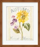 Framed Floursack Autumn III
