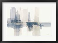 Framed Improvisation II Navy