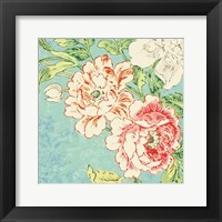 Framed Cottage Roses V Bright