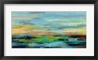 Framed Delmar Sunset I