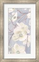 Framed Breezy Blossoms II Sage