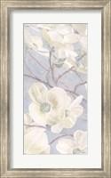 Framed Breezy Blossoms I Sage