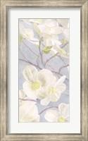 Framed Breezy Blossoms I