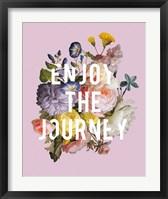 Framed Floral Sentiment II Crop