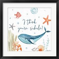 Framed Whale Tale V