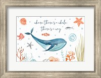 Framed Whale Tale III