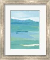 Framed Coastal Bliss II