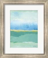 Framed Coastal Bliss I