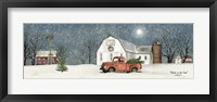 Framed Winter on the Farm