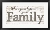 Framed You're Family