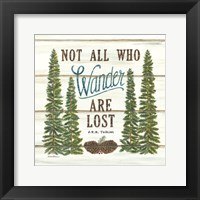 Framed Not All Who Wander are Lost
