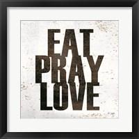 Framed Eat, Pray, Love