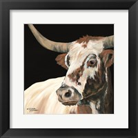 Framed Longhorn Love