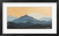 Framed Blue Ridge Mountain Range II