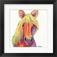 Framed Cheery Horse