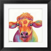 Framed Cheery Cow