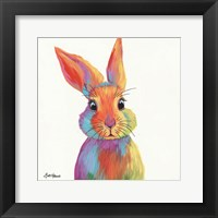 Framed Cheery Bunny