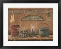 Framed Treasures on the Shelf I