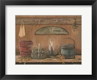 Framed Treasures on the Shelf I