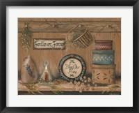 Framed Treasures on the Shelf II