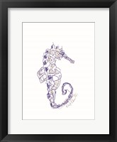 Framed S is for Seahorse