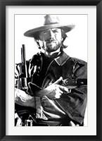 Framed Clint Eastwood - Two Guns