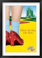 Framed Wizard of Oz - No Place Like Home