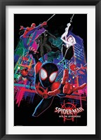 Framed Spider-Verse