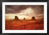 Framed Monsoon Sandstorm