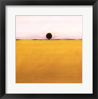 Framed One in Yellow