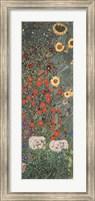 Framed Garden of Sunflowers