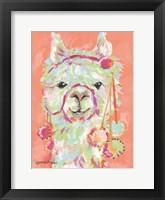 Framed Llama Love