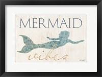 Framed Mermaid Wishes