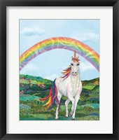 Framed Rainbow Pastures