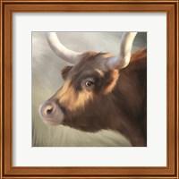 Framed Phoenix Longhorn